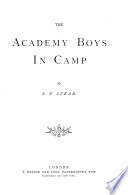 The Academy Boys in Camp Book PDF
