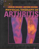 Physical Therapy in Arthritis Book