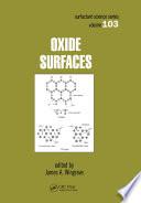 Oxide Surfaces