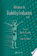 Advances in Usability Evaluation