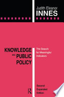 Knowledge and Public Policy