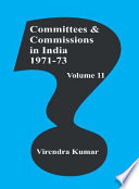 Committees and Commissions in India