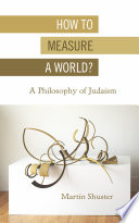 How To Measure A World