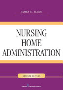 link to Nursing Home Administration in the TCC library catalog
