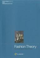 Fashion Theory Volume 15 Issue 1