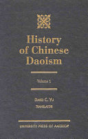 History of Chinese Daoism