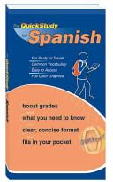 The QuickStudy for Spanish