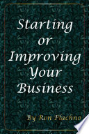 Starting Or Improving Your Business