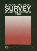 Economic and Social Survey of Asia and the Pacific 1998