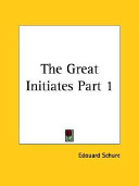 The Great Initiates