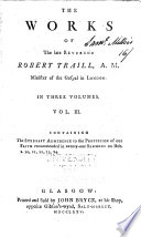 The Works of Robert Traill  Stedfast adherence to the profession of our faith Book