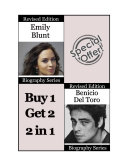 Celebrity Biographies - The Amazing Life of Emily Blunt and Benicio Del Toro - Famous Stars