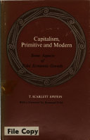 Capitalism, Primitive and Modern