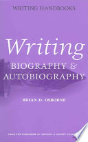 Writing Biography and Autobiography
