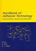 Handbook Of Adhesive Technology Revised And Expanded Book PDF