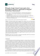 Triangular Single Valued Neutrosophic Data Envelopment Analysis  Application to Hospital Performance Measurement