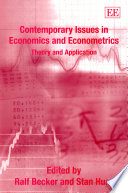 Contemporary Issues in Economics and Econometrics