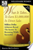 What It Takes    to Earn  1 000 000 in Direct Sales