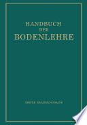 Handbuch der Bodenlehre