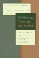 Rethinking Theology and Science