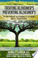 Alzheimer S Treatment Alzheimer S Prevention A Patient And Family Guide 2012 Edition Book PDF