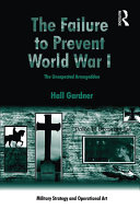 The Failure to Prevent World War I