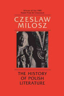 The History of Polish Literature  Updated Edition