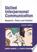 Skilled Interpersonal Communication Book PDF