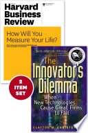 The Innovator S Dilemma With Award Winning Harvard Business Review Article How Will You Measure Your Life 2 Items
