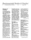 Environmental Studies & Practice