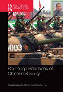 Routledge Handbook of Chinese Security Pdf/ePub eBook