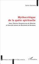 Mythocritique de la quête spirituelle Book