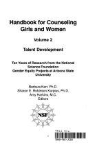 Handbook for Counseling Girls and Women  Talent development