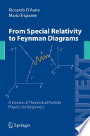 From Special Relativity to Feynman Diagrams Book
