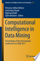 Computational Intelligence in Data Mining
