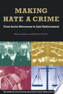 Making Hate A Crime