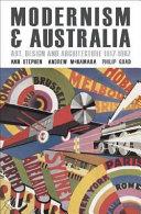 Cover of Modernism & Australia