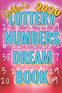 2020 Lottery Numbers Dream Book