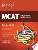 Kaplan MCAT Physics and Math Review