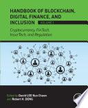 Handbook of Blockchain, Digital Finance, and Inclusion, Volume 1