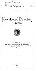 Washington Educational Directory