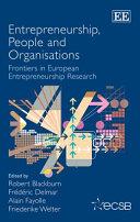 Entrepreneurship, People and Organisations