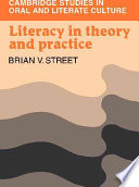 Literacy in Theory and Practice by Brian V. Street,Brian B. Street PDF