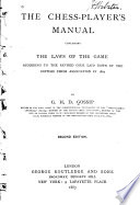 The Chess-player's Manual
