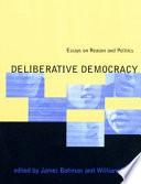 Deliberative Democracy