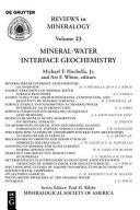 Mineral water Interface Geochemistry Book