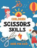 Children Scissors Skills Book For Kids