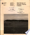 Soil Survey Of Whitley County Indiana