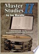 Master Studies II (Music Instruction)