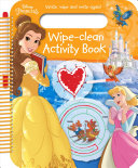 Disney Princess Wipe-Clean Activity Book